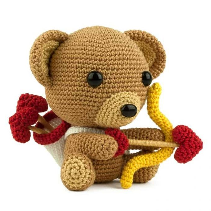 Patron au crochet Cupidon - Amigurumi