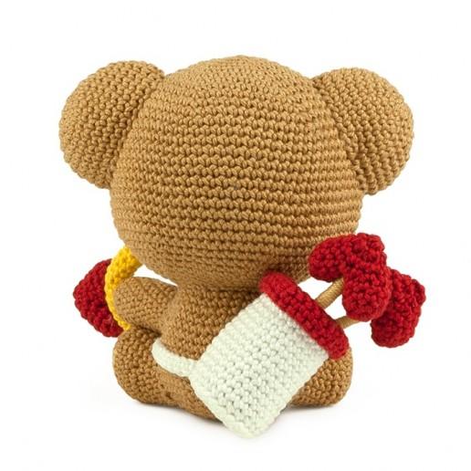 Crochet pattern Cuddly Cupid - Amigurumi
