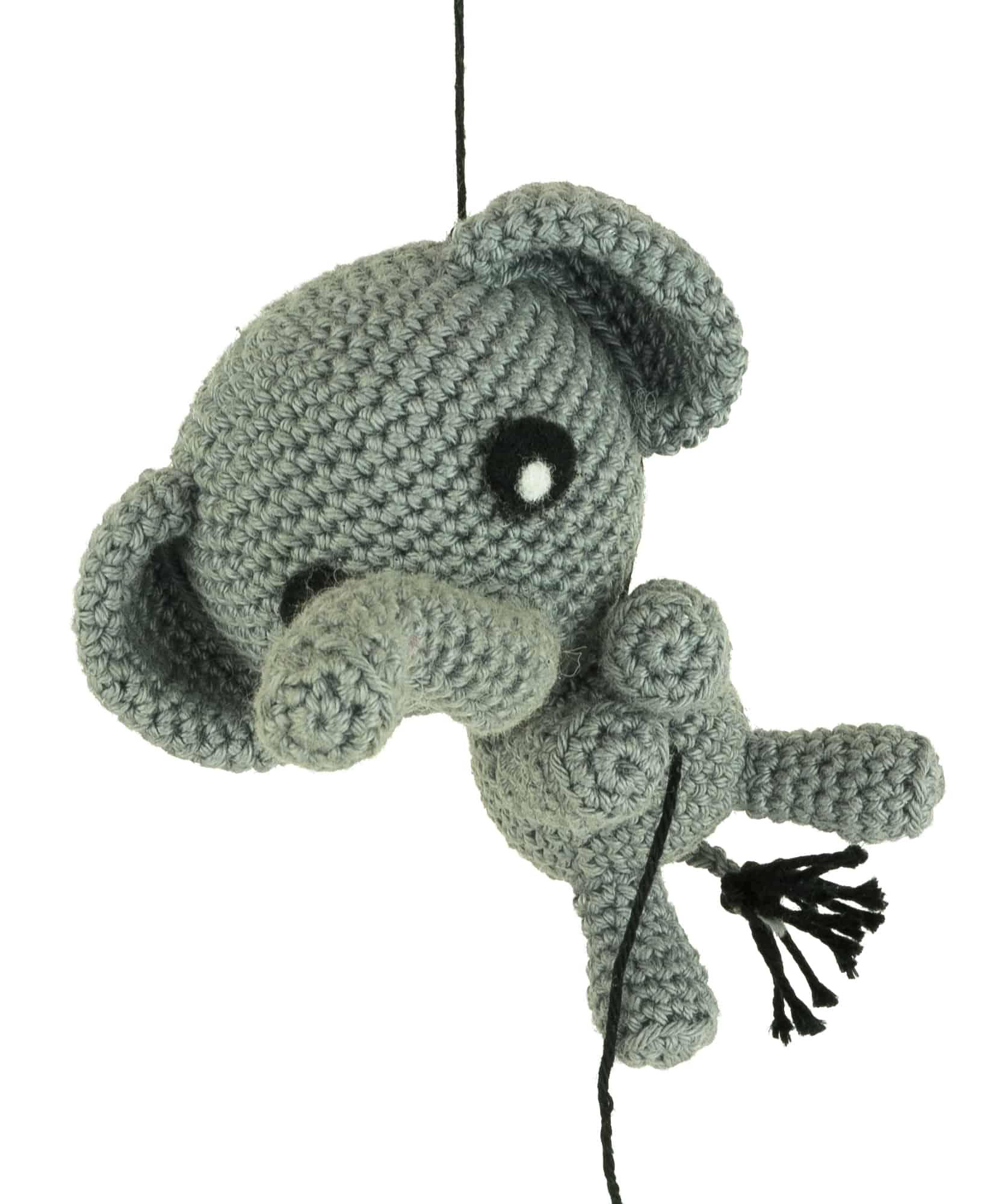 Häkelanleitung Verliebter Elefant - Amigurumi