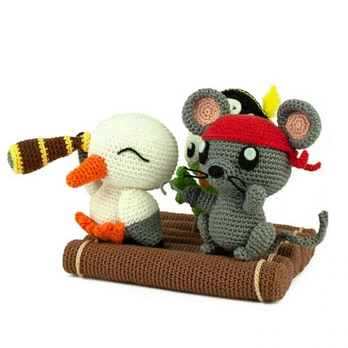 Crochet pattern Pirate Island - Amigurumi