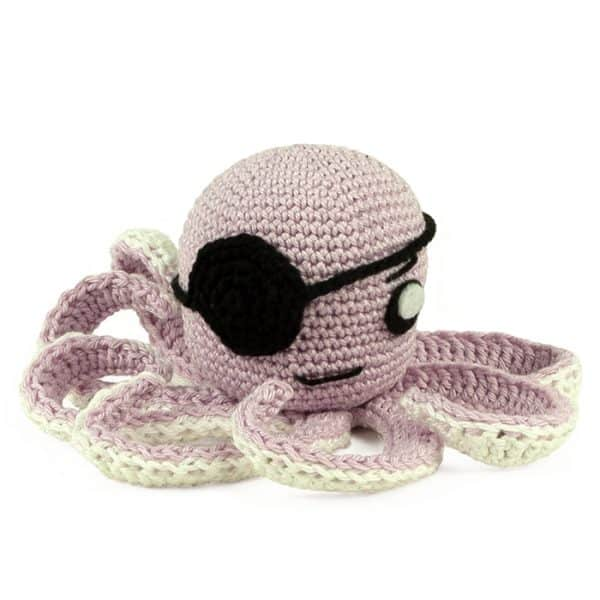 Crochet pattern Pirate Octopus - Amigurumi