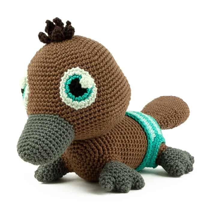 Patron au crochet Ornithorynque - Amigurumi