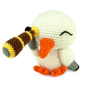 Crochet pattern Pirate Gull - Amigurumi