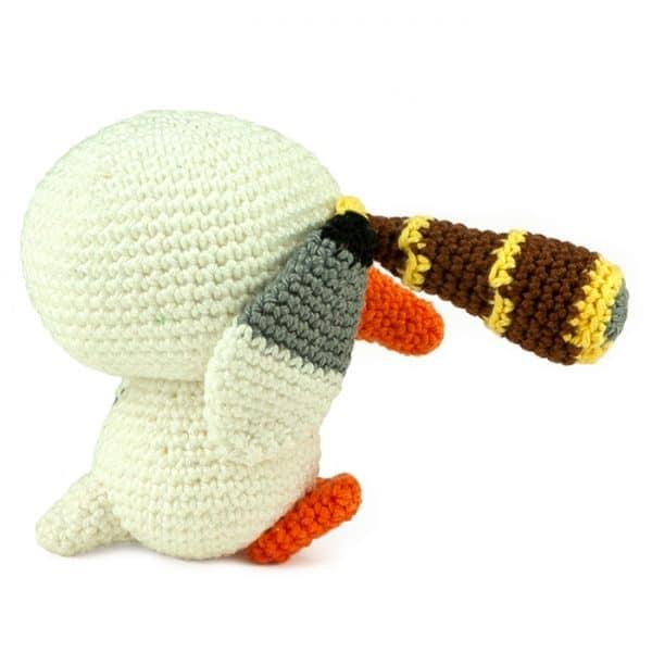 Crochet pattern Pirate Gull - Amigurumi