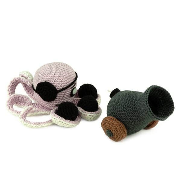 Crochet pattern Pirate Island - Amigurumi