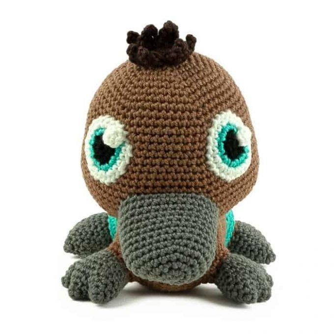 Crochet pattern Platypus - Amigurumi
