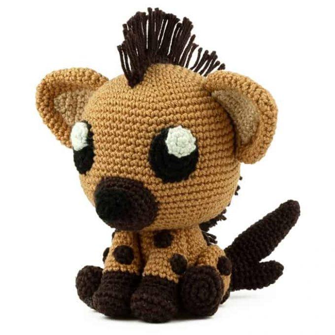 Crochet pattern Hyena - Amigurumi
