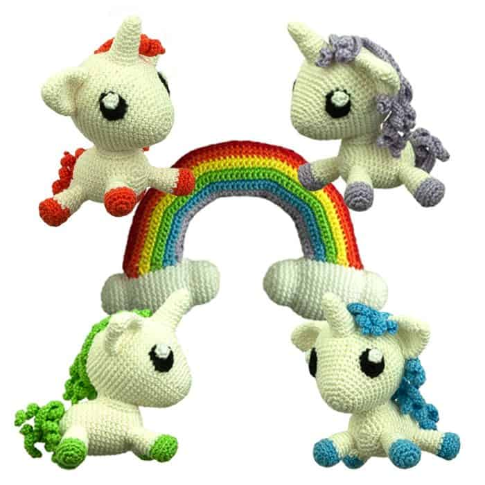 Crochet Pattern Rainbow Friends Sabrinas Crochet