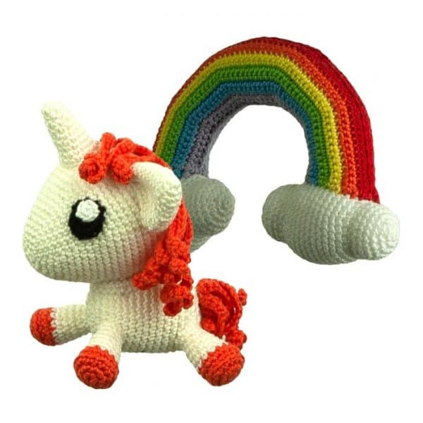 Crochet pattern Rainbow Friends - Amigurumi