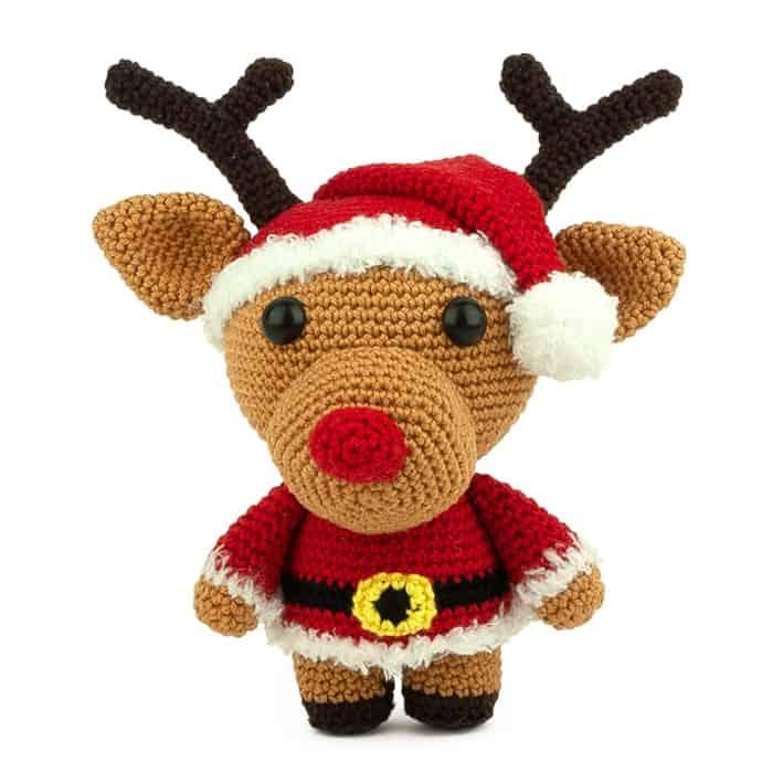 Haakpatroon Kerstman Randy - Amigurumi
