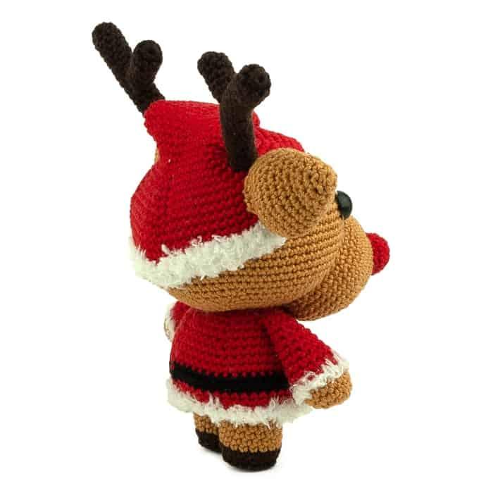 Hæklemønster Jule Randy - Amigurumi