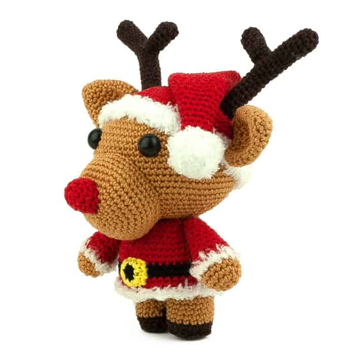 Patron au crochet Père Noël Randy - Amigurumi
