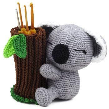 Patron au crochet Louis le Koala - Amigurumi