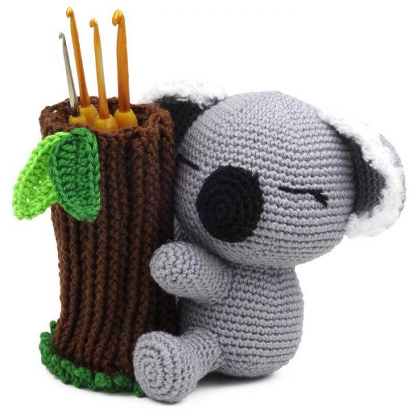 Hæklemønster Louie koala - Amigurumi