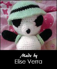 Haakpatroon Indiana Panda Sabrinas Crochet