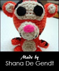 PATTERN: Tigger Amigurumi Crochet Tigger PDF Crochet | Etsy | 240x200