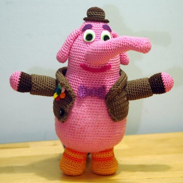 Crochet pattern Bing Bong - Inside Out - Amigurumi