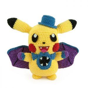 Crochet pattern Pikachu Halloween (Pokémon amigurumi)
