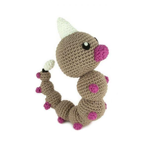 Crochet pattern Weedle (Pokémon amigurumi)