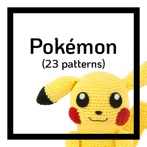 Category Pokémon - 23 patterns
