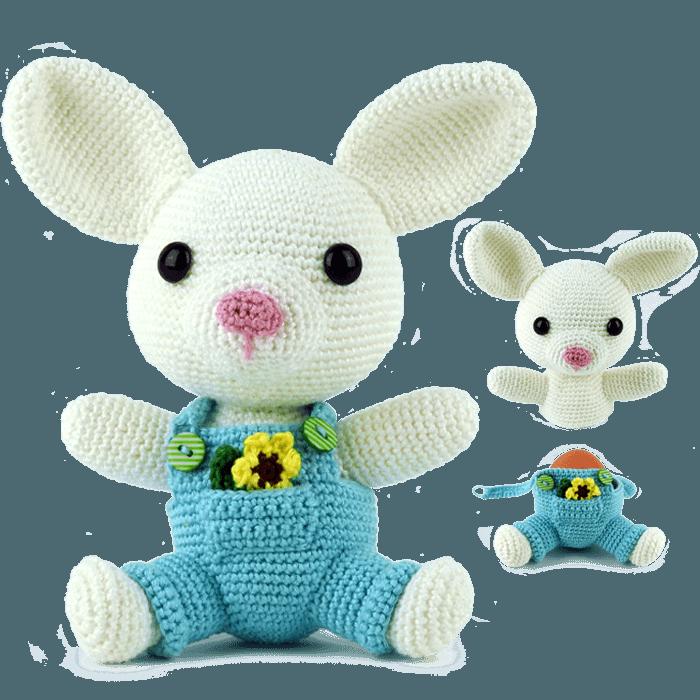 Kids toys Amigurumi Spring Bunny TLBTLLXBQF | 700x700