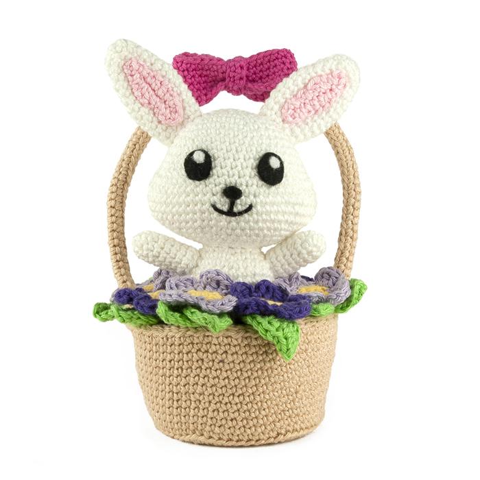 Spring Bunny & Bear Crochet Pattern Tiny Curl Amigurumi | Etsy | 700x700