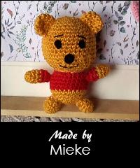 Häkelanleitung Winnie Puuh   Sabrina's Crochet   240x200