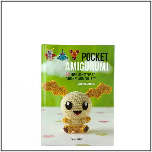 Pocket Amigurumi: 20 Mini Monsters to Crochet and Collect: Amazon ... | 500x500