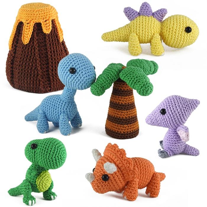 crochet-pattern-dinosaurs-amigurumi